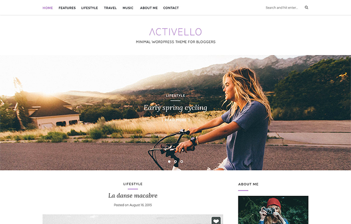 Free WordPress Themes 2016 - Activello