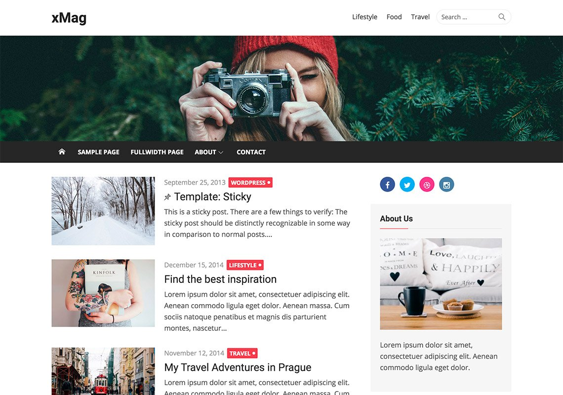 xMag - Free WordPress Themes